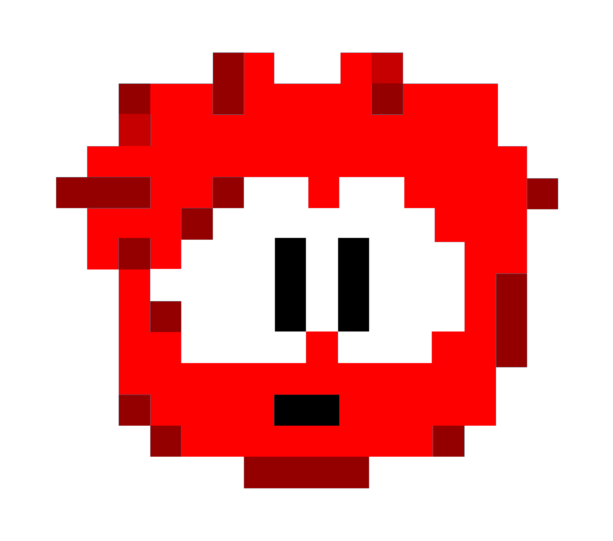 Red Pixel Puffle