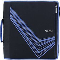 "Ten Star 3"" Stretch Zipper Binder"